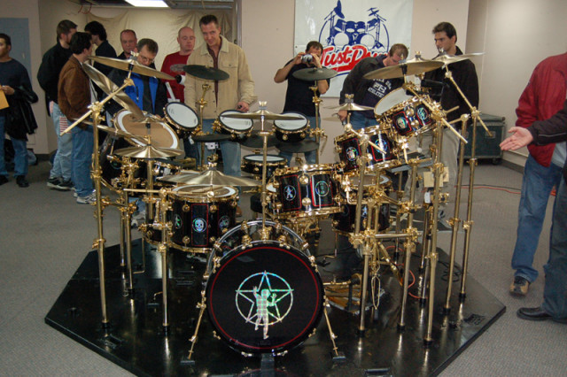 DW Neil Peart R30 Drum Kit DrumTalk