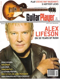 Alex Lifeson - Guitar Player Magazine March 2006
