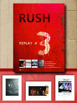 Replay X3 Poster Pack