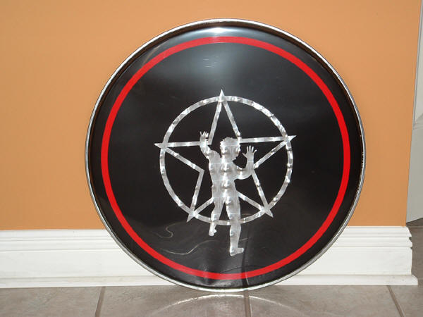 rush is a band blog more neil peart drum kit replicas at andy o 39 s site. Black Bedroom Furniture Sets. Home Design Ideas