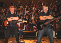 Rik Emmett and Alex Lifeson
