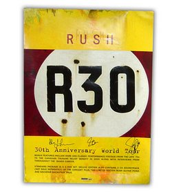 Autographed R30 poster
