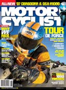 Motorcyclist Magazine November 2006