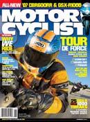Motorcyclist Magazine November 2006