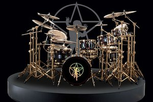 Neil Peart R30 commemorative drum kit replica