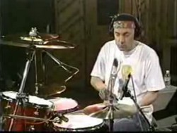 Neil Peart performing Cotton Tail