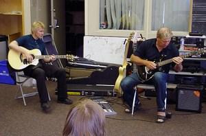Rik Emmett and Alex Lifeson Guitar Workshop