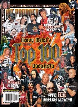 Hit Parader November 2006