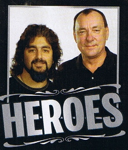 Mike Portnoy and Neil Peart from Rhythm Magazine interview
