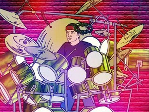 Animated Neil Peart