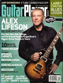 Alex Lifeson Guitar Player Sept 07