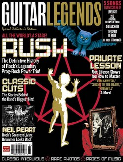 Rush Guitar Legends issue