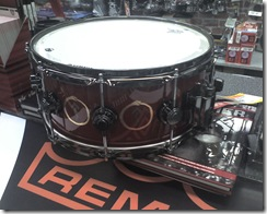 Neil Peart signature snare drum