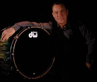Neil Peart and DW Drums