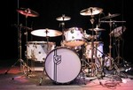 Neil Peart Buddy Rich Memorial Concert kit