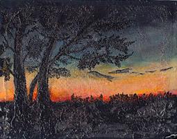 Alex Lifeson painting