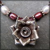Rose in the Darkness necklace
