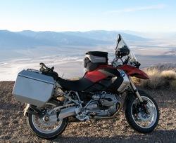 Neil Peart's new BMW on Dante's Peak