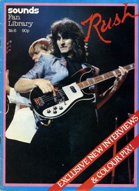 Rush Sounds Magazine January 1983