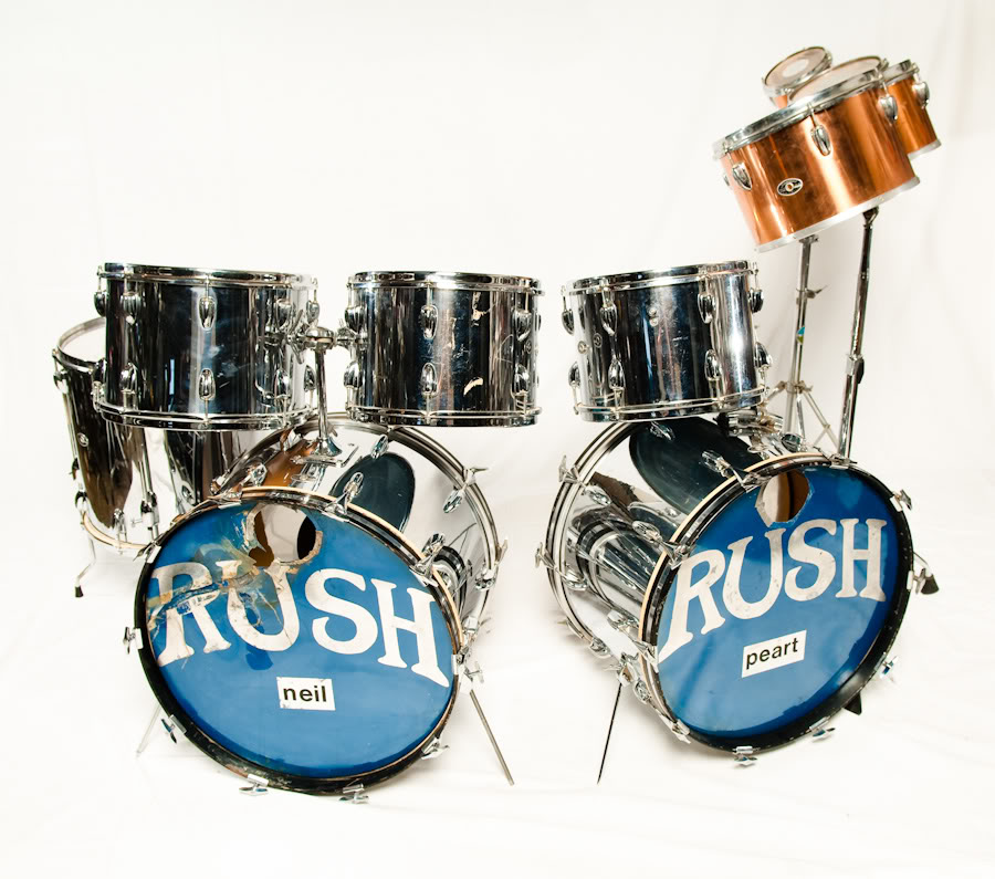 Neil Pearts Original Slingerland Drum Kit