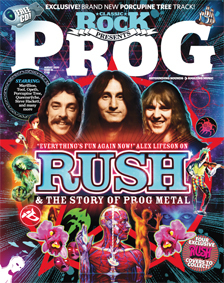 Classic Rock presents ... Prog cover