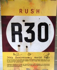 Signed R30 lithograph