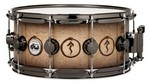 DW Snakes & Arrows snare drum, new finish