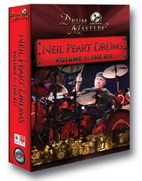 Sonic Reality's Neil Peart Drums Volume 1