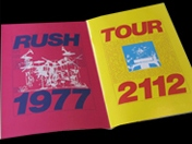 Rush Tourbooks remastered series