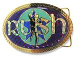 Hologram Rush belt buckle