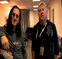 Geddy and Alex in Saratoga Springs