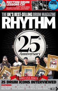 Rhythm magazine 25th anniversary issue