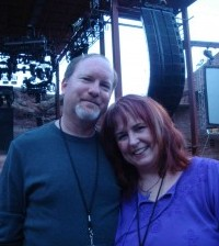 Kevin J. Anderson and Rebecca at Red Rocks