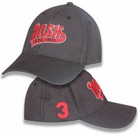 Rush red swoosh hat
