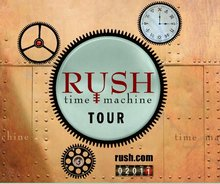 Rush Time Machine Tour 2011