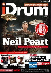 iDrum Magazine debut issue