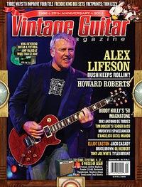 Vintage Guitar September, 2011