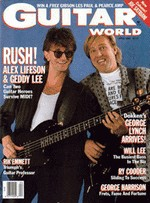 Guitar World - April, 1988