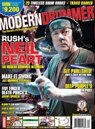 December, 2011 Modern Drummer