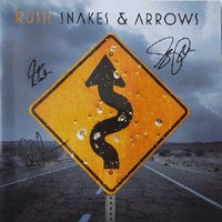Autographed Snakes & Arrows Tourbook