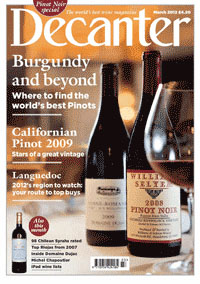 Decanter - March, 2012