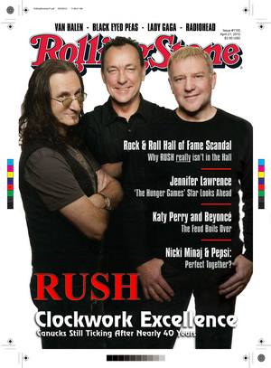 Rush Rolling Stone working cover preview