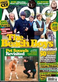 Mojo magazine June, 2012