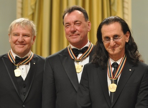 Rush with their GGPAAs - Paul Beaulieu, The Canadian Music Scene