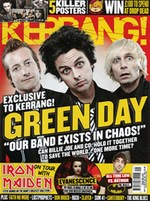 Kerrang! July 21, 2012 cover