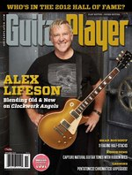 Alex Lifeson - Guitar Player - November, 2012