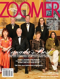 Rush on the cover of Zoomer