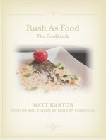 Rush as Food cookbook