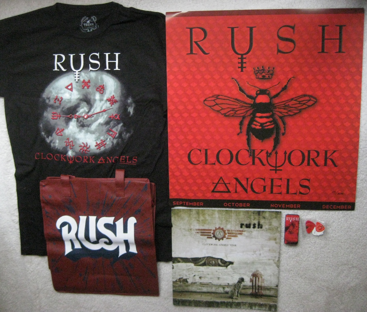 VIP ticket packages for the North American leg of Rush's current Clockwork Angels tour were sold through VIP Nation rather than Live Nation as they were on