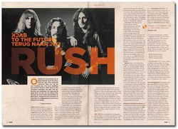 Rush in Oor magazine